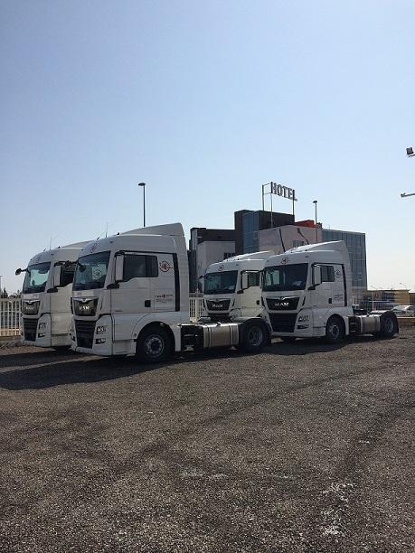 Cabezas tractoras para Castellón a Francia
